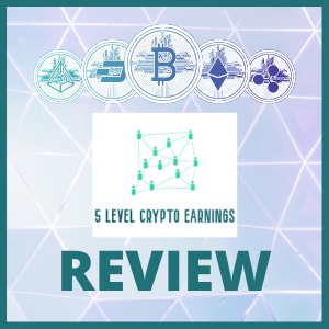 5 level crypto earnings review logo feature image