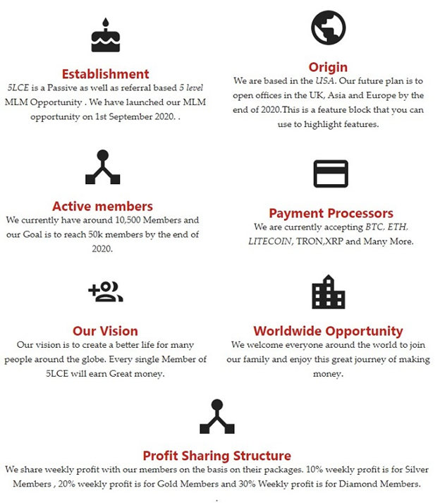 5 level crypto earnings review 5 level crypto earnings website home page company statements image